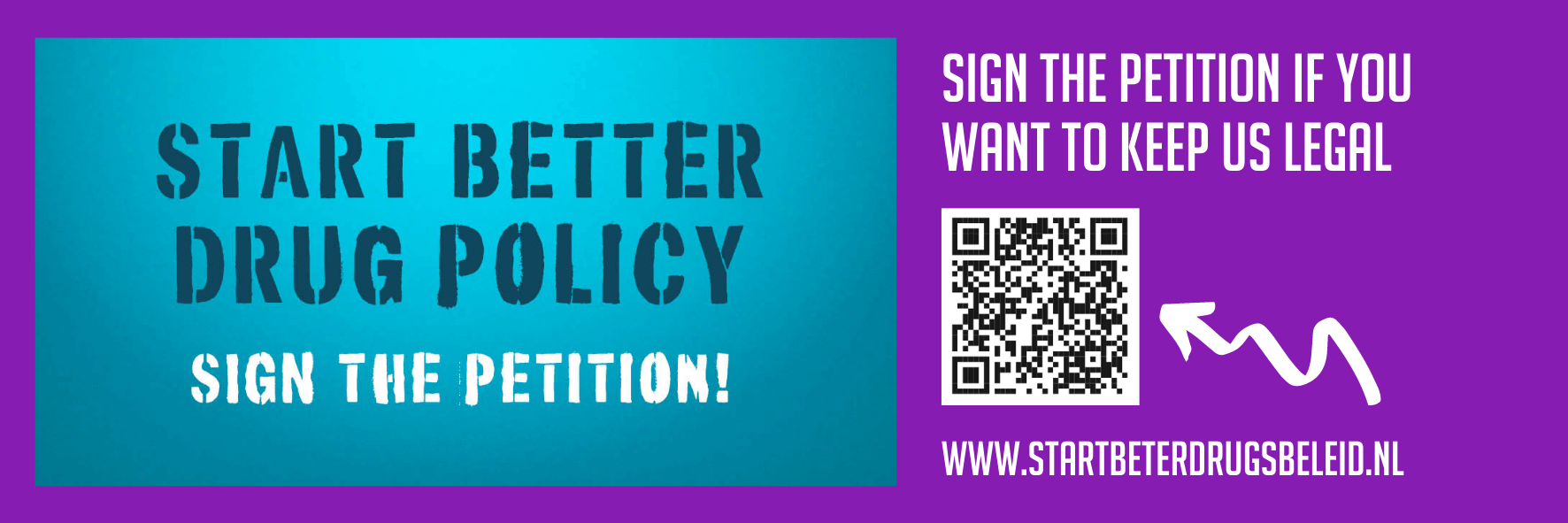 Banner - Sign the petition to fight the ban