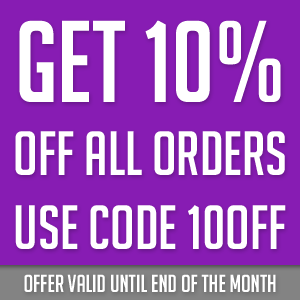 Get 10 off by using coupon code