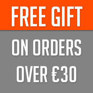 Free gift for orders over 30 euro