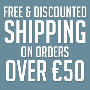 Free shipping for orders 50 euro